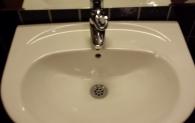 Handfat med vattenberedare